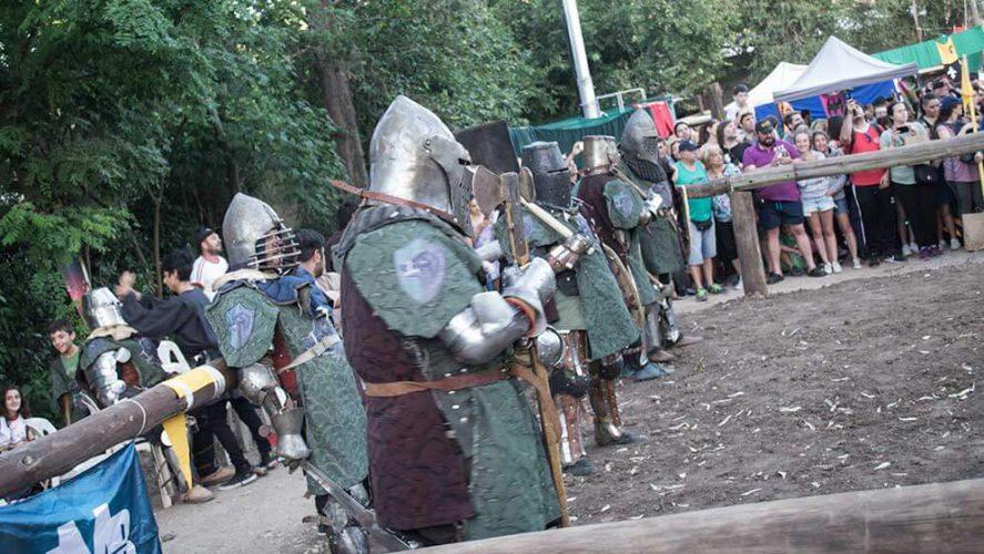 Combates medievales con tonada cordobesa