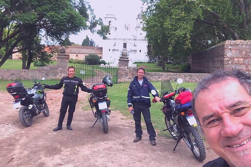 experiencia en moto